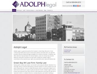 adolphlegal.avvosites.com screenshot
