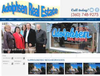 adolphsenrealestate.net screenshot