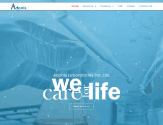 adonislab.com screenshot