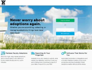 adopt.rafter.com screenshot