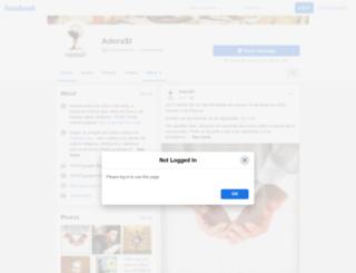 adorasi.com screenshot