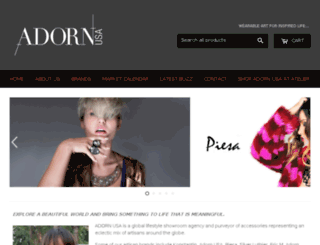 adornusa.com screenshot