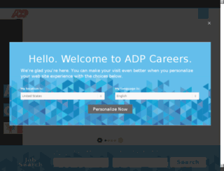 adp-jobs.com screenshot