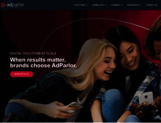 adparlor.com screenshot