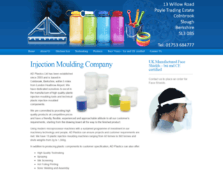 adplasticsinjectionmoulding.co.uk screenshot