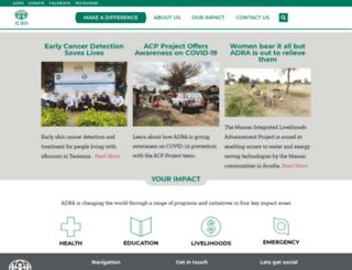 adratanzania.org screenshot