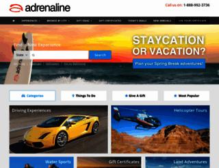 adrenaline365.com screenshot
