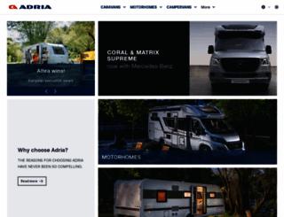 adria-mobil.com screenshot