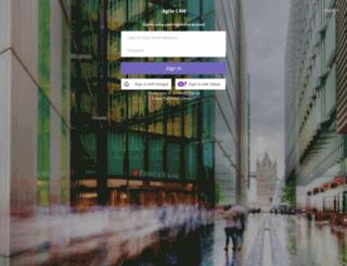 adriancarriger.agilecrm.com screenshot