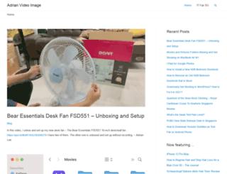 adrianvideoimage.com screenshot