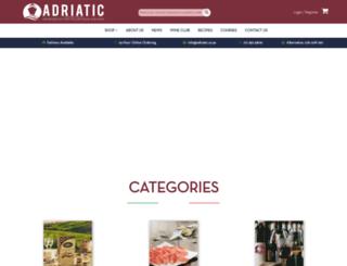 adriatic.co.za screenshot