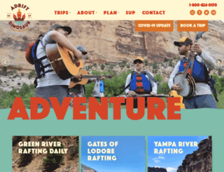 adrift.com screenshot