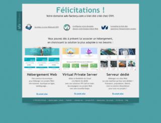 ads-factory.com screenshot