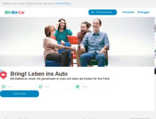 ads.mitfahrzentrale.de screenshot