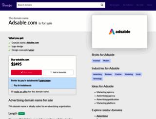 adsable.com screenshot