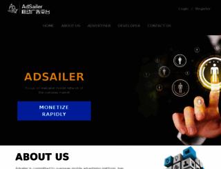 adsailer.com screenshot
