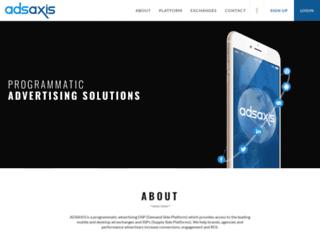 adsaxis.com screenshot