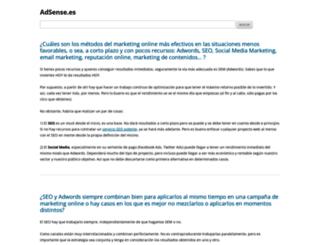 adsense.es screenshot