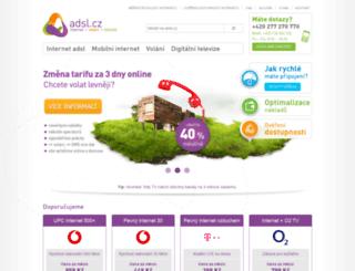 adsl.cz screenshot