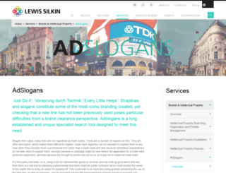 adslogans.co.uk screenshot