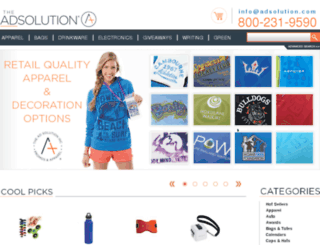 adsolution.com screenshot