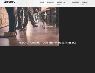 adsolv.com screenshot