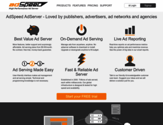 adspeed.com screenshot