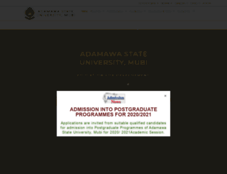 adsu.edu.ng screenshot