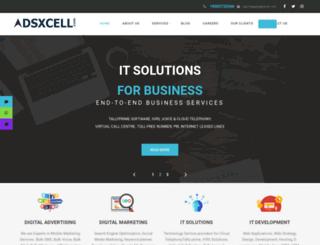 adsxcell.com screenshot