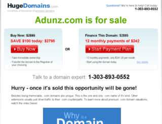 adunz.com screenshot