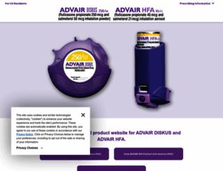 advair.com screenshot