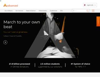 advanced-legal.co.uk screenshot