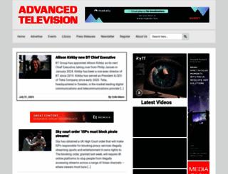 advanced-television.com screenshot