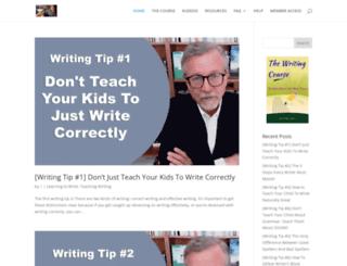 advanced-writing-resources.com screenshot