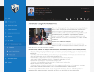 advancedadwordsbook.com screenshot