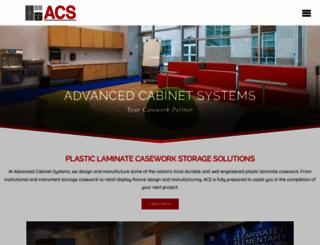 advancedcabinetsystems.com screenshot