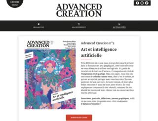 advancedcreation.fr screenshot