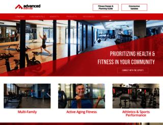 advancedexercise.com screenshot