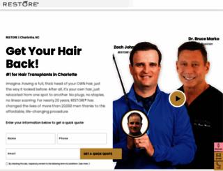 advancedhairtransplants.com screenshot