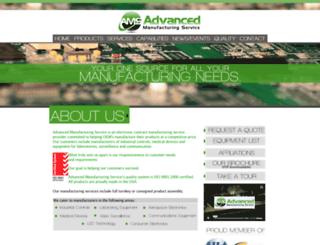 advancedmfgservice.com screenshot