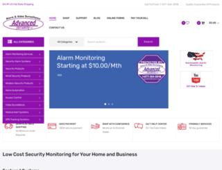 advancedsecurityllc.com screenshot