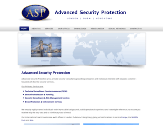 advancedsecurityprotection.com screenshot