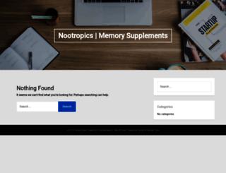 advancenootropics.com screenshot