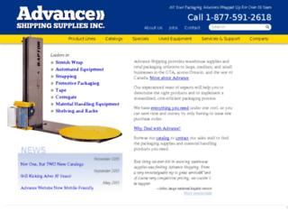 advancesupply.calls.net screenshot