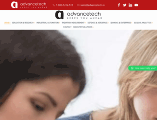advancetech.in screenshot