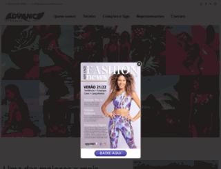 advancetextil.com.br screenshot