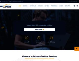 advancetraininguk.com screenshot