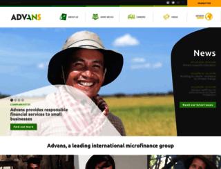 advansgroup.com screenshot