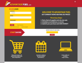 advantagefuel.com screenshot