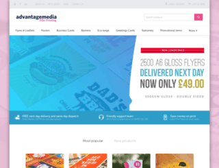advantagemedia.co.uk screenshot